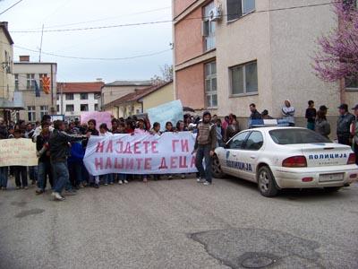 Ромите на протести ги бараат исчезнатите деца