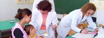 Само половина деца во Средорек се вакцинирани