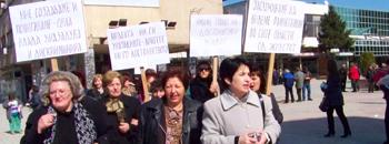 Осмомартовски марш на жените од СДСМ