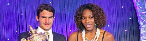Федерер и Вилијамс најдобри тенисери во 2009 година