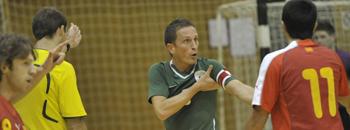 Натпревар во мал фудбал Македонија - Бугарија