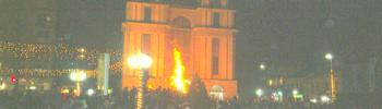 СПМ: Паганска е прославата на Бадник на плоштадот