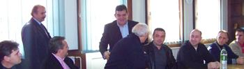 Градоначалникот го честиташе празникот на чевларите