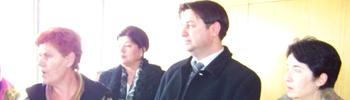 Пратеници на СДСМ ги посетија стечајците