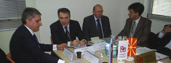 Mакедонски и српски бизнисмени се сретнаа на Табановце