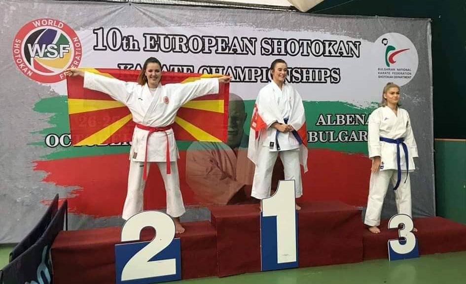 Пет медали освоија каратистите на Shotokan Karate Klub Ronin Dojo во Бугарија