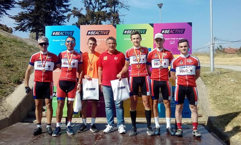 """Вело-М со извонредни резултати на трката """"Трофеј Кале"""" во Скопје"""