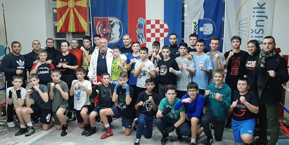 Млади боксери учествуваа на меѓународен камп за кадети во Хрватска