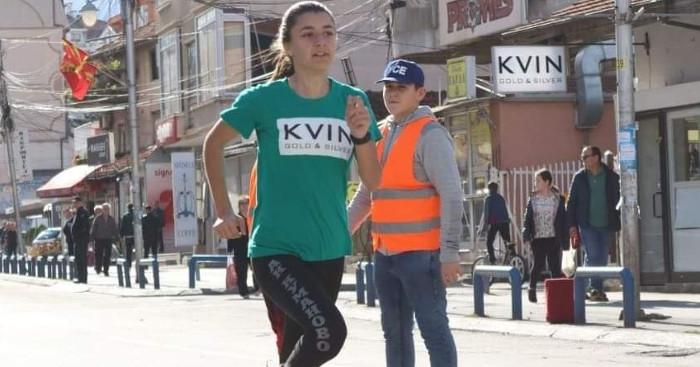 Дијана Вукановиќ, нова атлетска надеж за Куманово