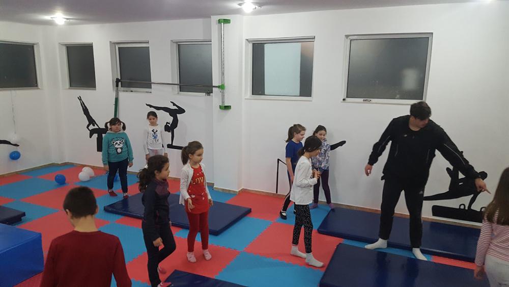 Отворена првата школа за спортска гимнастика во градот