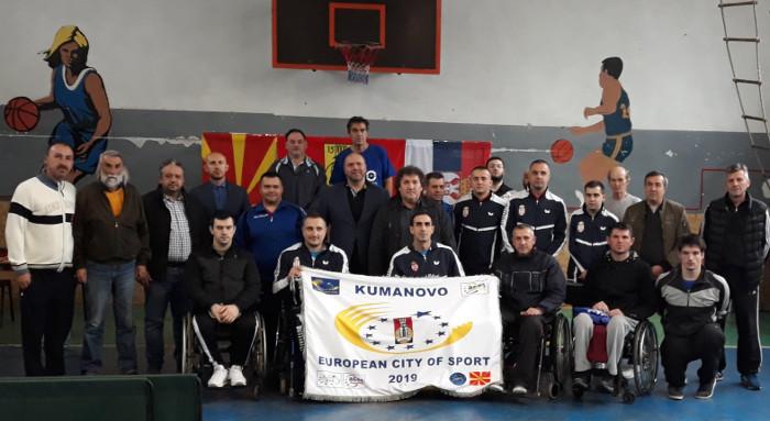 Пингпонгари со телесен инвалидитет од Македонија и Србија се натпреваруваа во Куманово