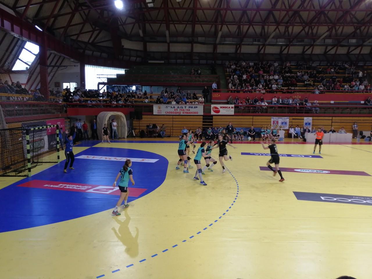 ЖРК Куманово директно во третата рунда од Европскиот Куп, ждребот на 1 септември