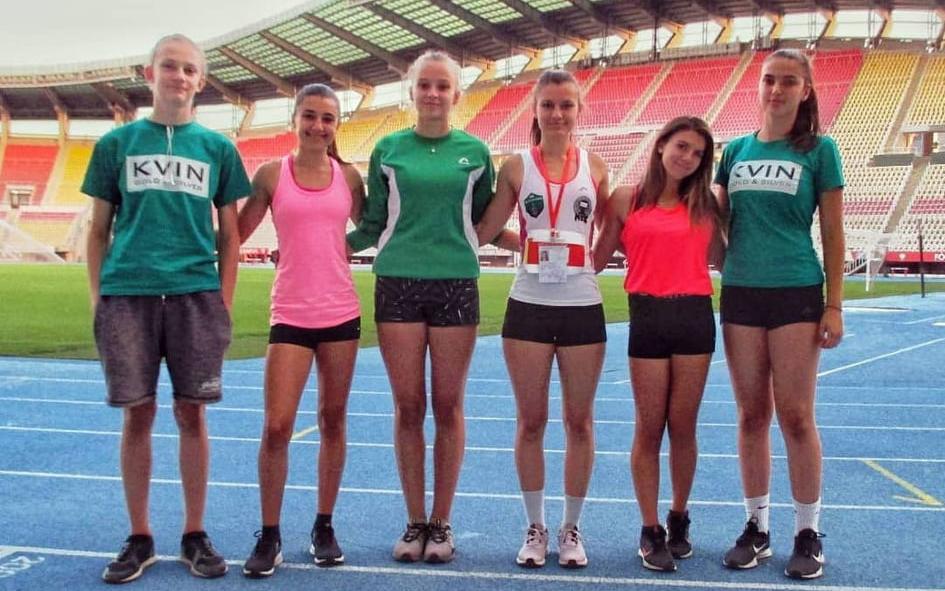 Кумановските атлетичарки се закитија со четири медали на Националното првенство за млади