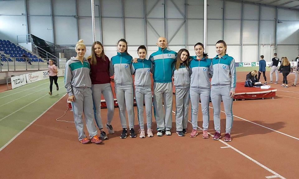 Атлетскиот клуб Куманово на Државно првенство во Бугарија