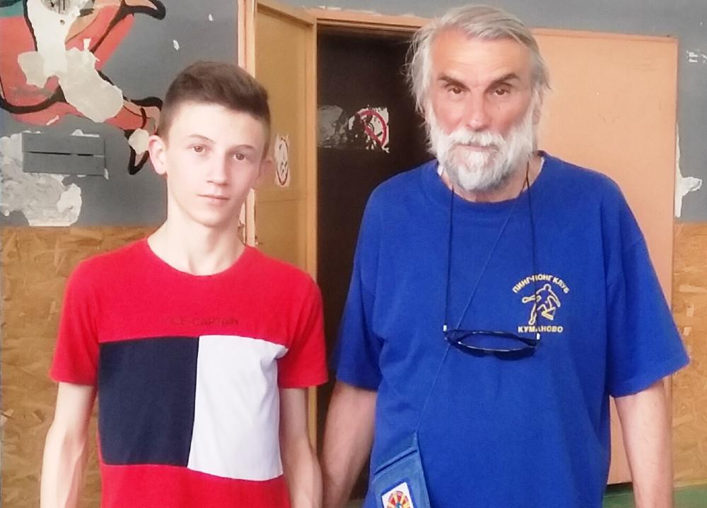 Андреј Васевски ќе учествува на Пингпонг турнир за најдобри кадети во Крушево