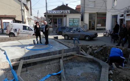Се гради турската чешма во Куманово