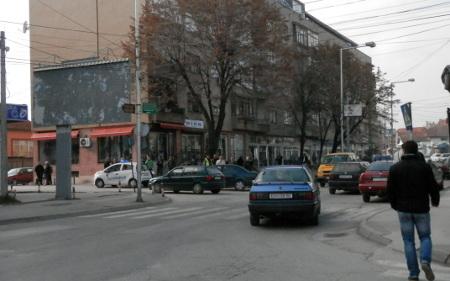 Прегазен пешак во центарот на Куманово