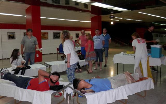 Вонредна летна крводарителска акција во Центарот за култура