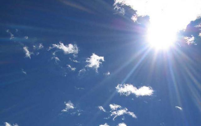 Сончево со мала облачност