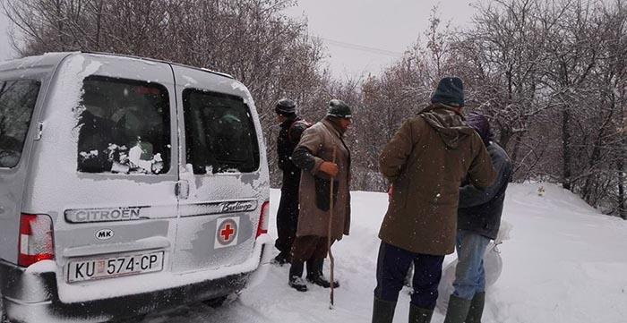 Помош за сиромашните семејства во козјачките села