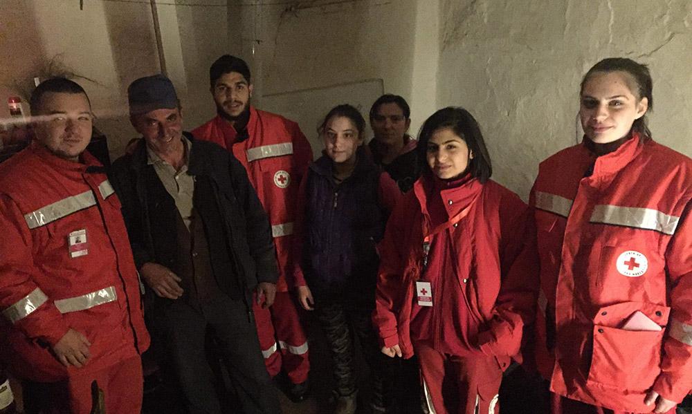 Црвен крст однесе помош на семејството Димковски во Габреш