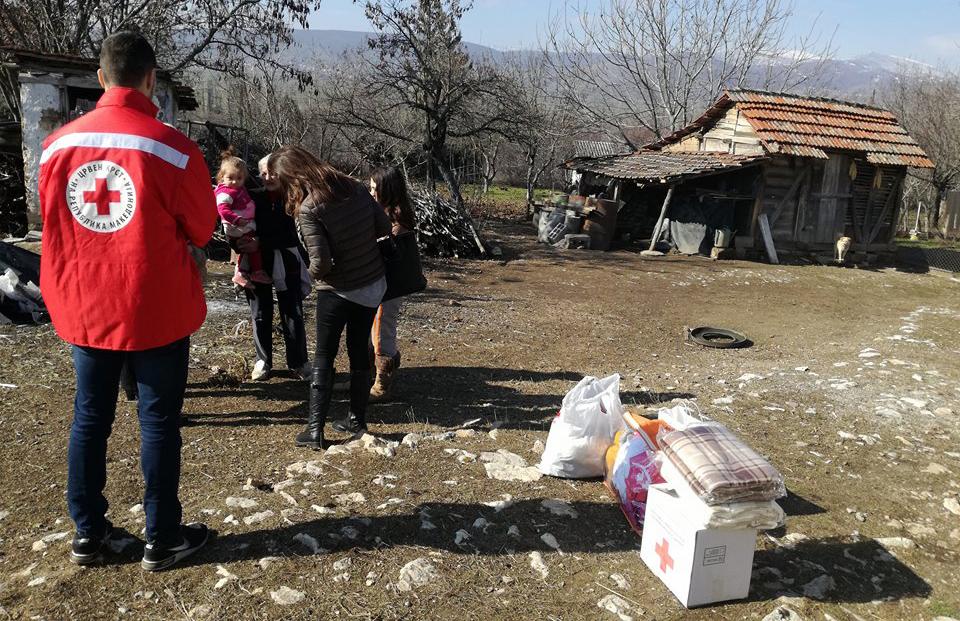 Хуманитарна помош за повеќе сиромашни семејства
