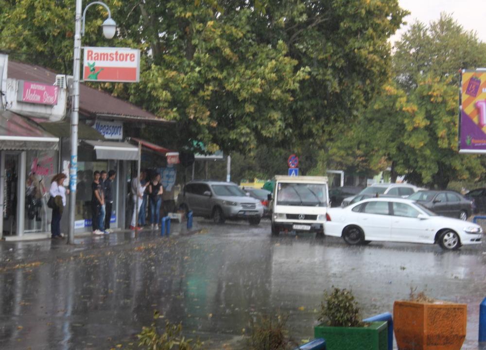 Пороен дожд го зафати Куманово