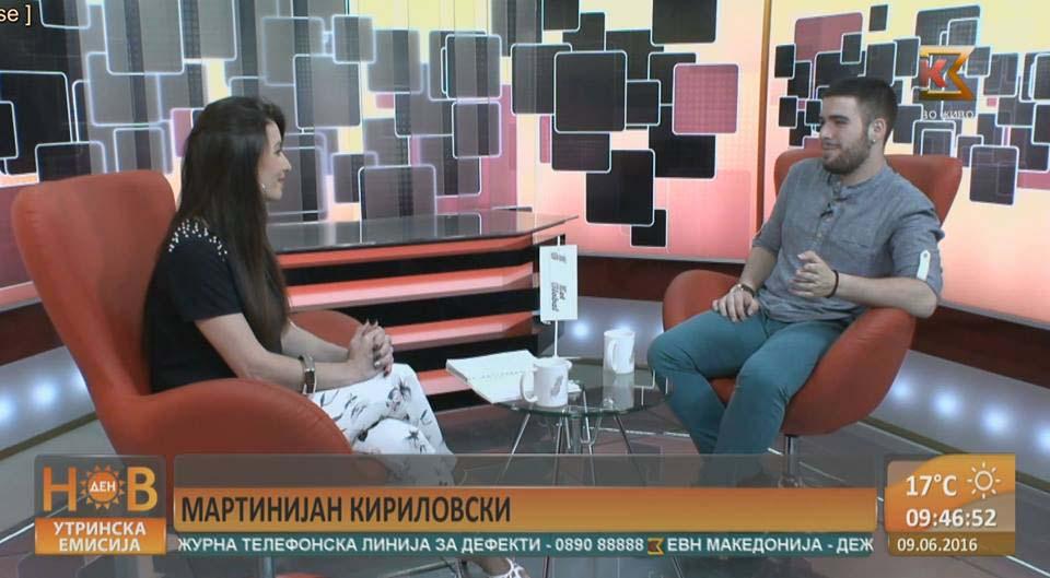 Марјан Стошевски нов менаџер на К3 телевизија