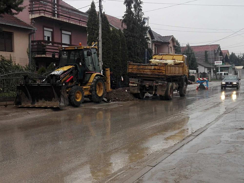 Без вода 6 улици во градот