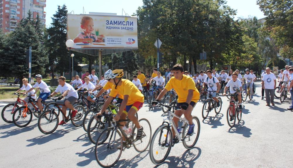 Кампања за безбедно возење велосипед, организира Општината, Полицијата и Вело-М