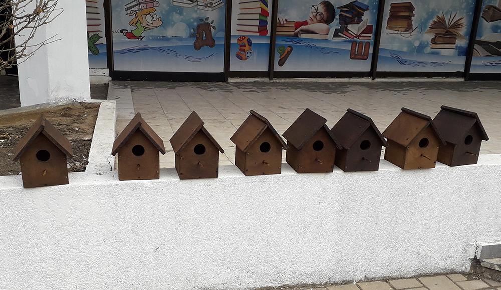 Kуќички за птици ќе се постават во центарот на градот