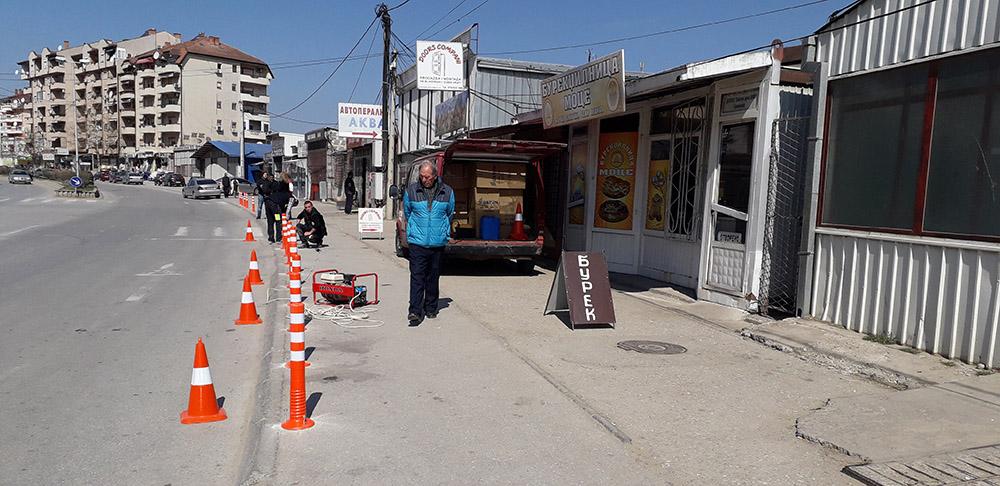 Дуќанџиите се жалат дека ќе останат без пристап до дуќаните, Општината не отстапува од проектот