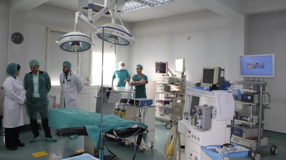 Стручен медицински персонал и техничка помош за Општата болница – Куманово