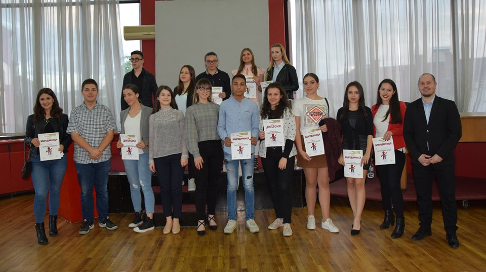 Теодора Спасовска победник на првата Ораторска вечер во Куманово