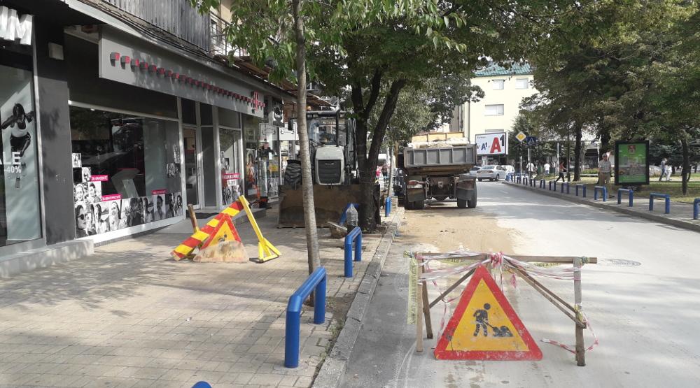 Без вода потрошувачите на неколку улици и населби