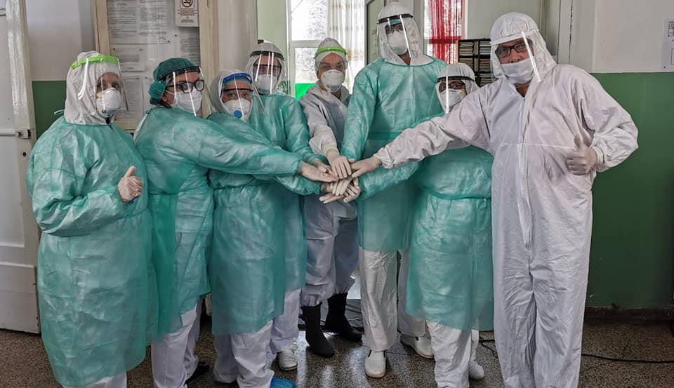 Кумановци изработија 1000 визири за здравствените работници во регионот