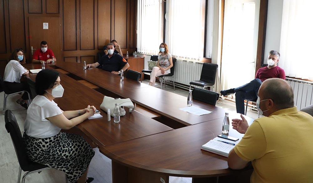 Да се зголемат капацитетите на Кумановската болница за лекување на пациенти од коронавирус, побара Општинскиот штаб