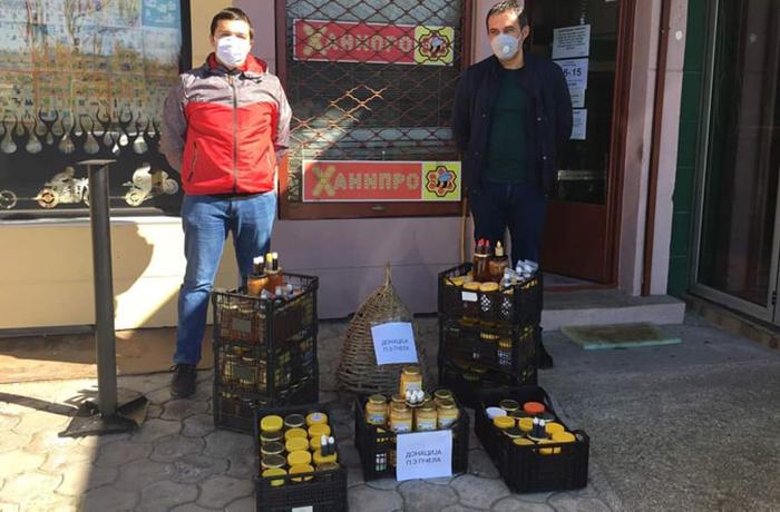 Кумановските пчелари донираа мед и прополис на здравствените работници и заболените од коронавирус