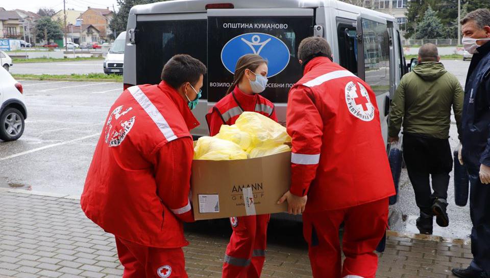 Продолжува дистрибуцијата на пакети со храна за ранливите категории граѓани