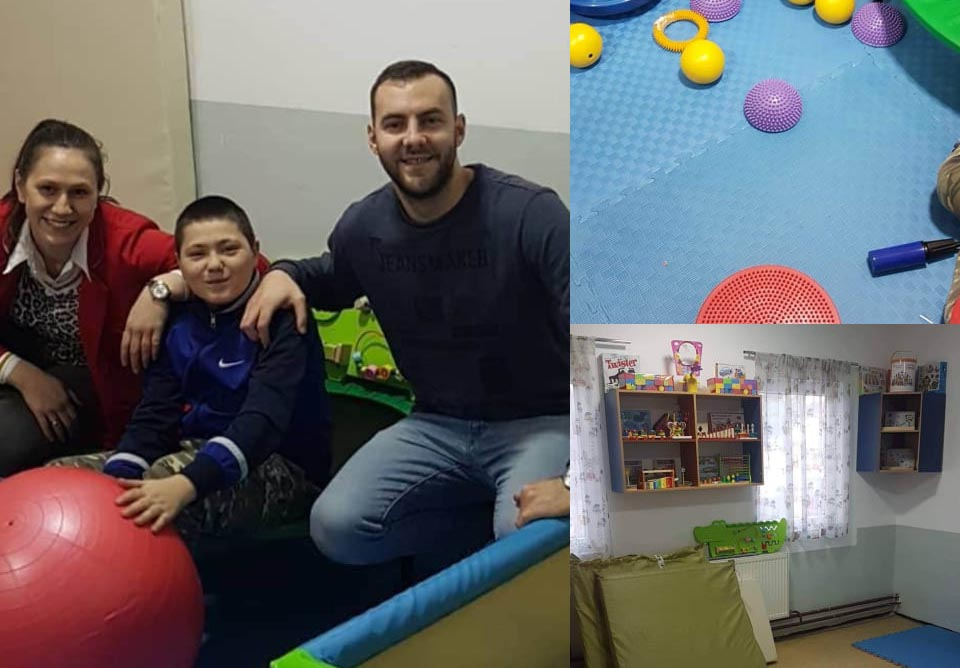 """Сензорна соба за современ третман на деца со посебни потреби доби Основното училиште """"Браќа Миладиновци"""""""