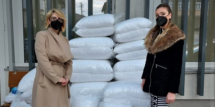"""""""Бадникова поворка"""" со донација за Кумановската болница"""