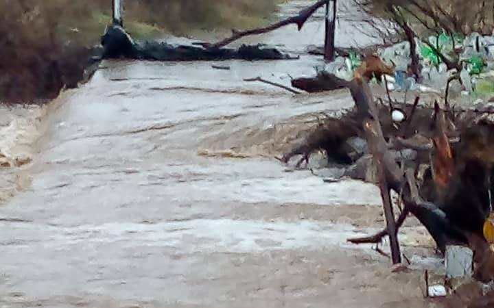 Поплавено земјоделско земјиште, куќи и викендички во кумановско