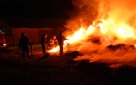 Пожар во викендичка во Студена бара