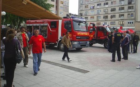 Презентација на полициско-пожарникарска опрема