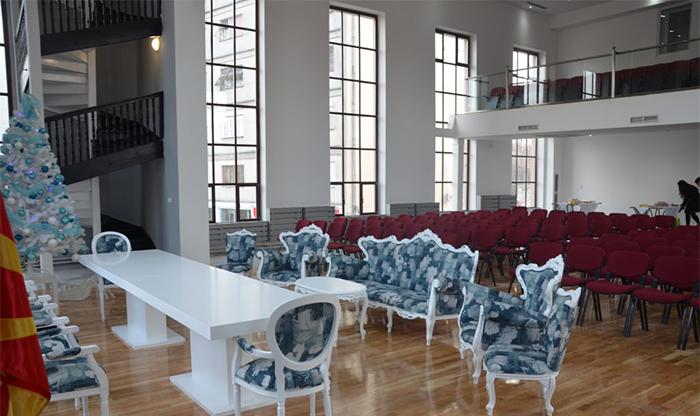 Заврши реконструкцијата на внатрешноста на Занатскиот дом