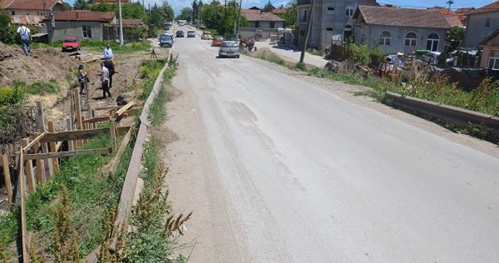 Се проширува мостот во населбата Карпош