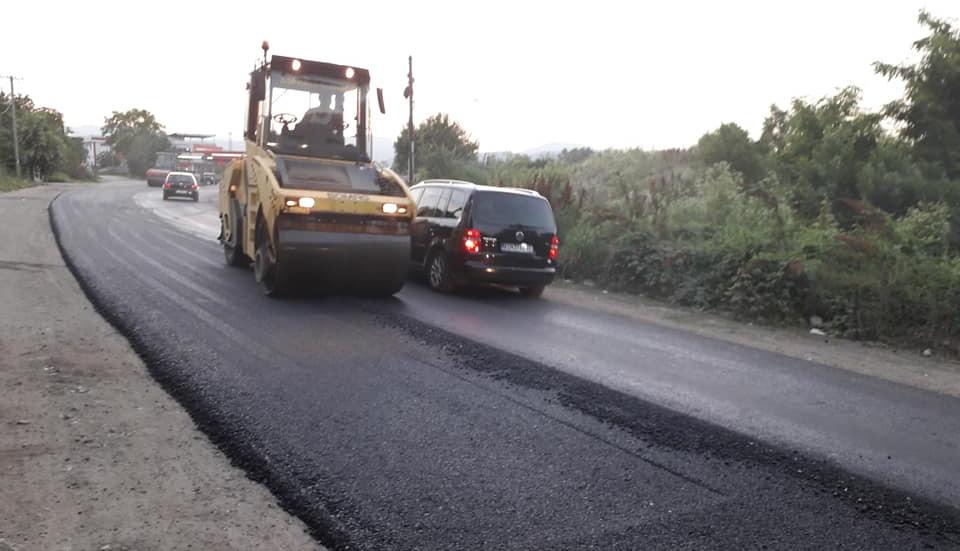 Увид во реконструкција на регионалниот пат Куманово-Свети Николе