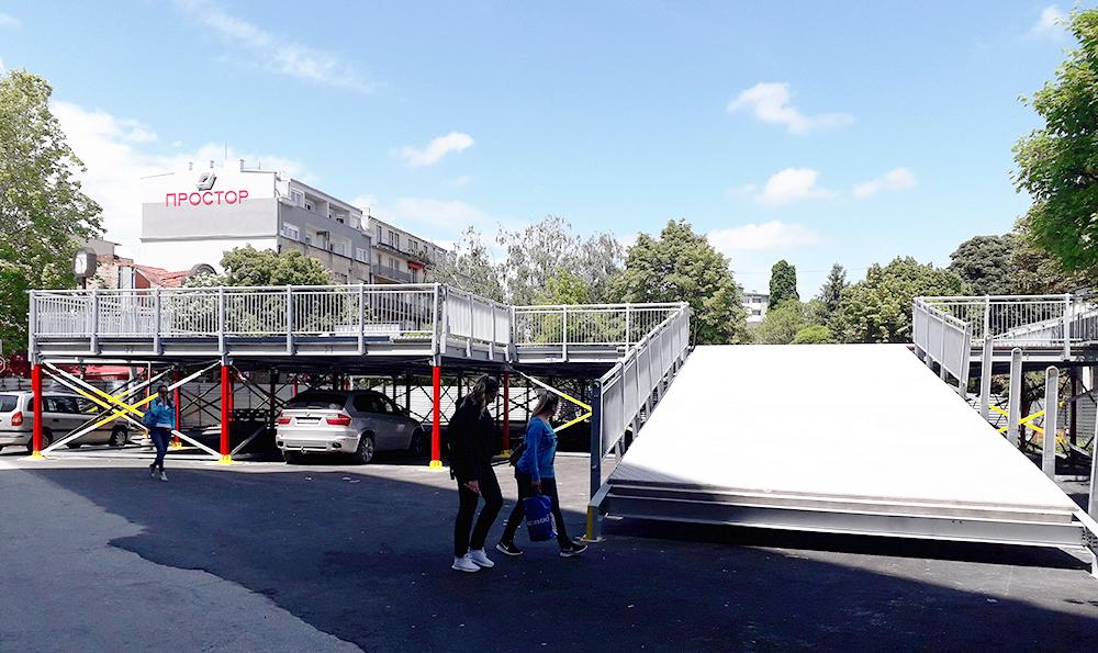 До крајот на месецот ќе се отвори првата катна гаража во градот