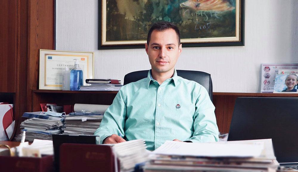 Александар Гелевски е новиот секретар на Општина Куманово