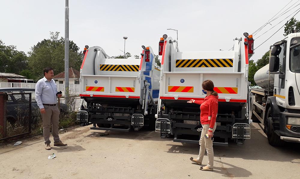 """Два камиони за смет набави ЈП """"Чистота и зеленило"""""""